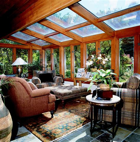 sun rooms glass roof sun room or solarium with wood interior