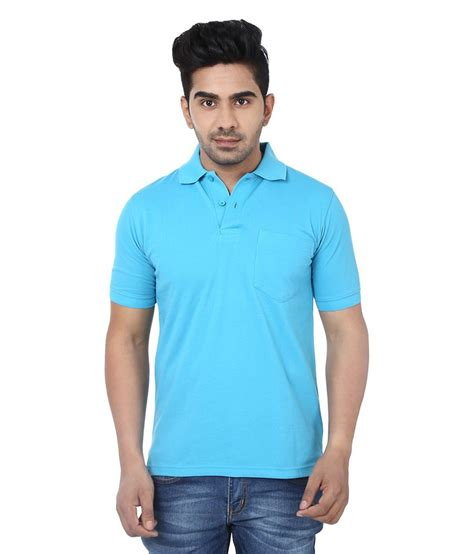 Tshirt Crocks crocks club blue cotton polo t shirt buy crocks club