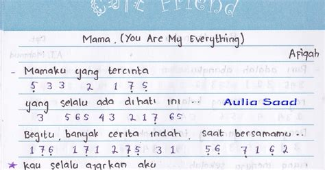 afiqah you are my everything not angka afiqah you are my everything not