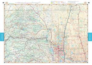 atlas map of colorado colorado road recreation atlas benchmark maps
