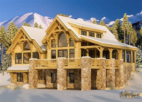 alpine designs timber frame homes timberridge woodhouse the timber frame company