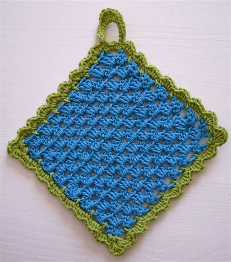 pot holder pattern easy pot holder pdf crochet pattern tutorial marta chade flickr