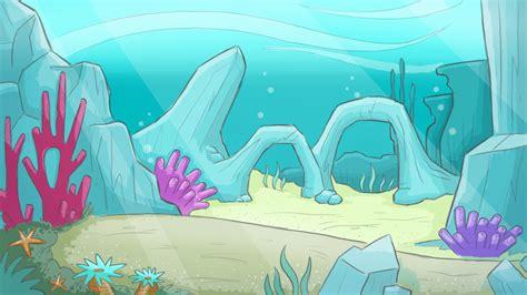 Wallpaper Underwater Cartoon | cartoon underwater background by slaterdies on deviantart