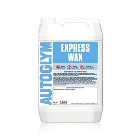 autoglym express wax 5l elite car care