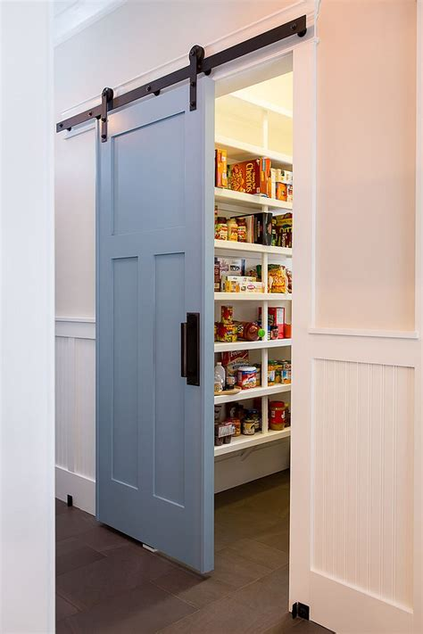 kitchen pantry doors ideas 25 trendy kitchens that unleash the of sliding barn doors