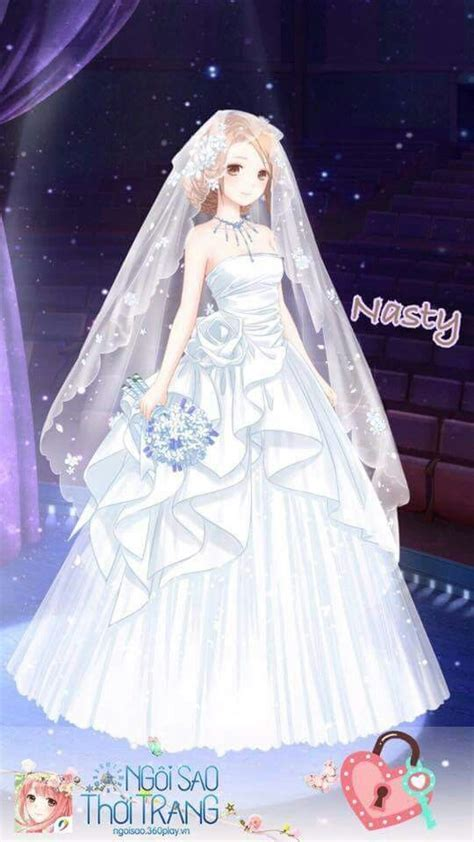 anime wedding dress   Wedding