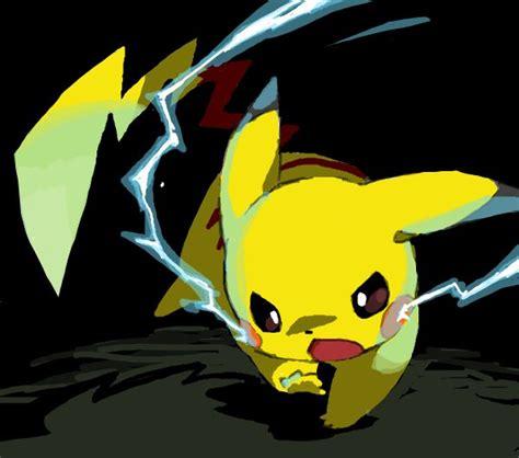 Shock Thunder Pikachu Uses Thundershock Random Awesomeness
