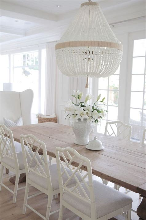dining room table white top 25 best coastal dining rooms ideas on