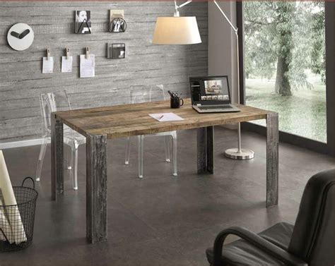 tavoli rovere sbiancato tavolo in rovere trattato con cera naturale scontato