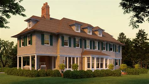 shingle style cottage plans wickapogue road shingle style home plans by david neff