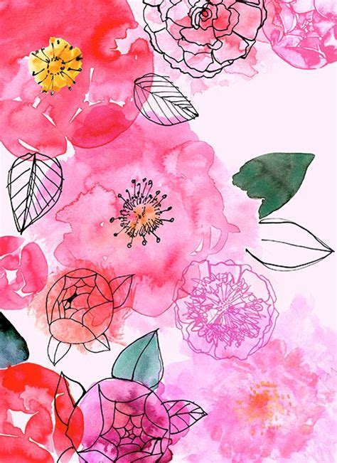 watercolor floral pattern background pattern of the week archives jaima company