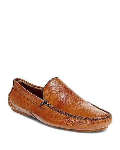 steve madden brown loafers steve madden vicius leather loafers in brown for
