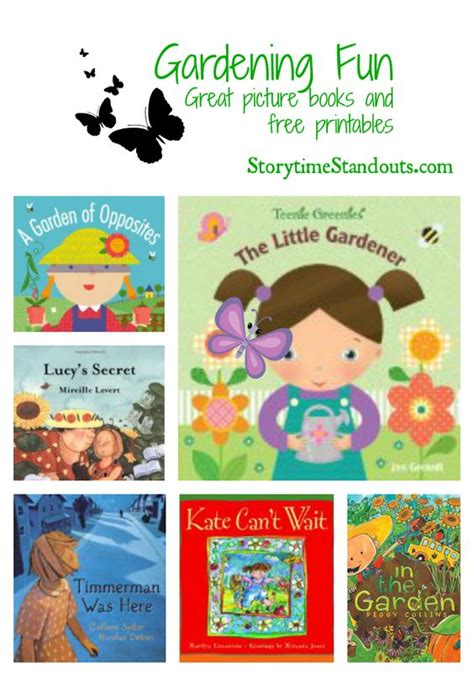 new year storytime theme picture books book recommendations and gardening on