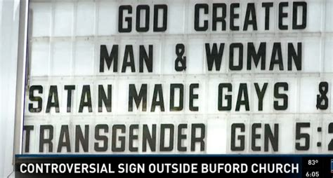 this i a simple biblical defense for lgbtq christians books satan made gays church sign attacks lgbt