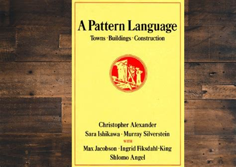 pattern language book book review of quot a pattern language towns buildings