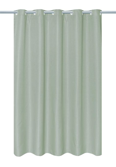 waffle shower curtains carnation home fashions inc ez on waffle weave shower