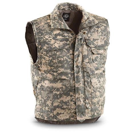 Vest Millitery Mil Tec 174 Insulated Vest Army Digital 230005