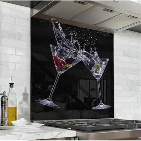 fond de hotte verre sur mesure 2680 fond de hotte verres 224 cocktail verre et alu credence