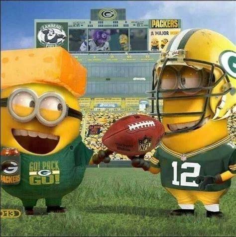 Funny Green Bay Packers Memes - green bay packers minions green bay packers pinterest