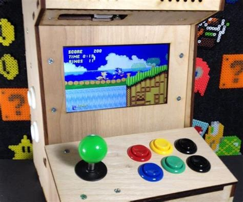 build your own arcade cabinet with raspberry pi build your own mini arcade cabinet with raspberry pi 5