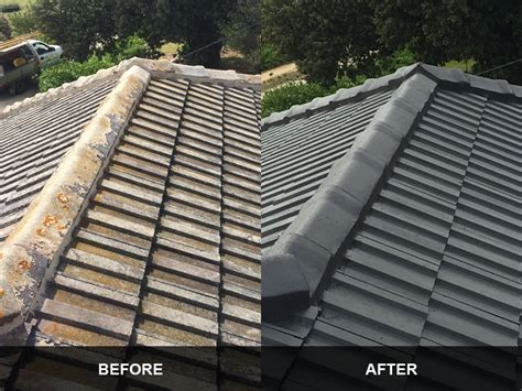 Roof Tile Paint Roof Painting And Cleaning Geelong Roof Works