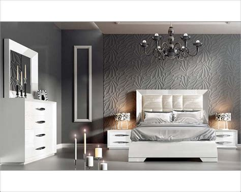 modern white bedroom set white modern bedroom set carmen 33131ca