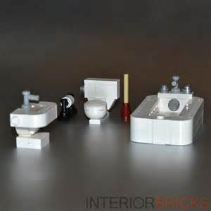 lego custom toilet bowl bathroom set w plunger