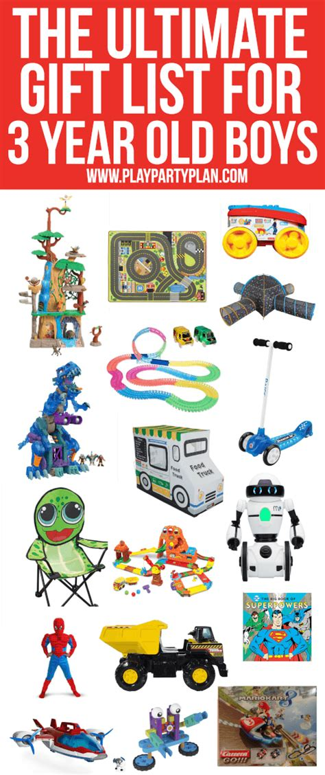 present ideas for a 3 year 25 of the absolute best gifts and toys for 3 year boys