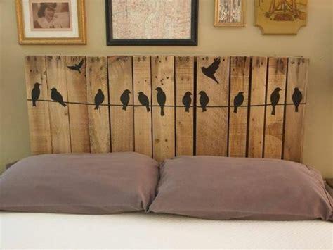 pav礬 sur lit de 50 id 233 es pour fabriquer une t 234 te de lit peinture du