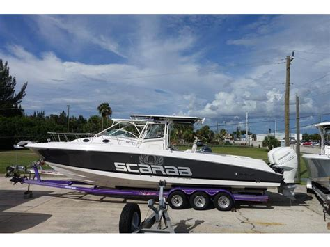 used scarab boats florida 2017 wellcraft 35 scarab tournament powerboat for sale in