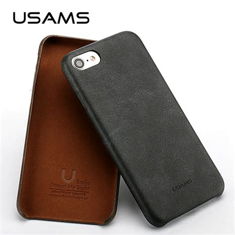 Usams Bob Series For Iphone 6 Unikiosk usams vintage style for iphone 7 plus leather bob series reinforced dirt shock proof phone