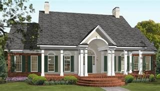 one story colonial house plans