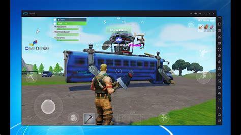 play fortnite mobile  pc full explanation
