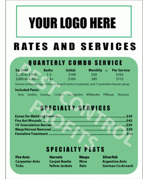 rate card template rate card templates word templates docs