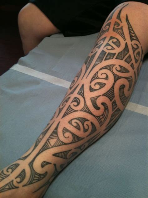 25 best ideas about maori leg tattoo on pinterest maori
