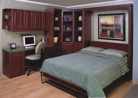 home office with murphy bed home improvement pinterest