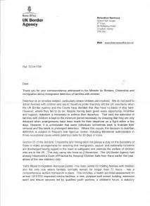 Support Letter For Immigration Uk Prout De Jure Uk Border Agency Letter