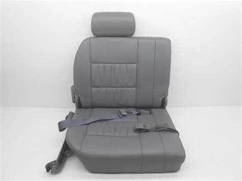 download car manuals 2002 lexus lx seat position control oem lexus lx470 rear 3rd row seat leather gray alpha automotive