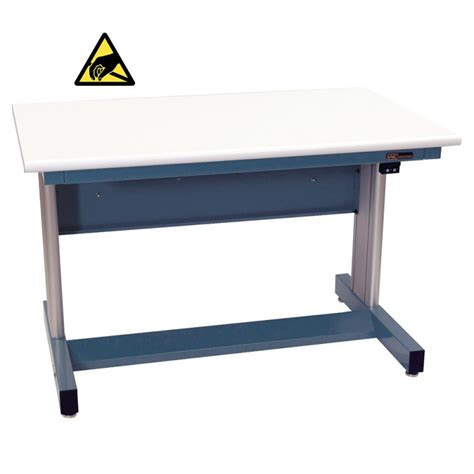 Benches Tables Iac Iac Electric Height Adjustable Industiral Workbench Equipmax