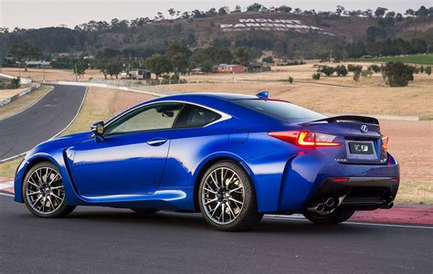 lexus australia lexus rcf price and features for australia