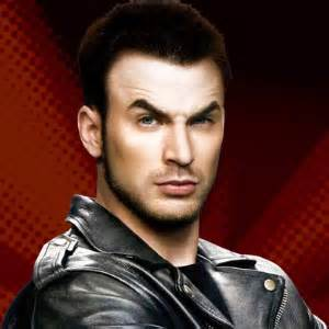 Lucas is played by chris evans because his defeat is short in the