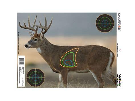 printable paper deer targets chion visicolor real life deer targets 18 x 12 paper