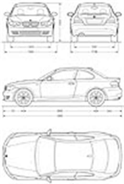 Bmw 1er Coupe Abmessungen by Vorstellung Der Neuen Bmw 1er Coup 233 Technische Daten