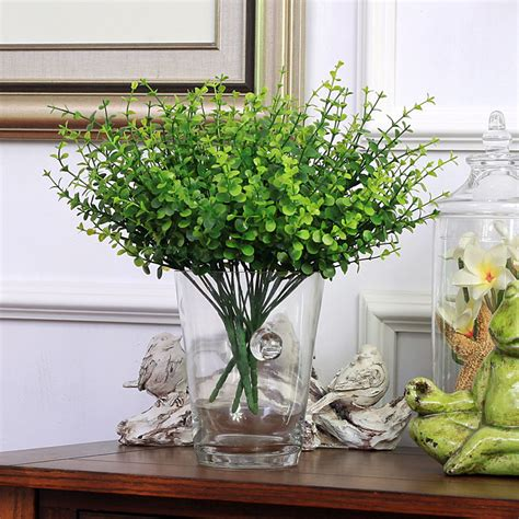 artistic greenery buy quality artificial flowers trees high quality artificial plants aeucalyptus high 35cm