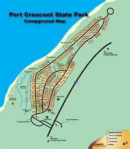 Cgrounds In Port Mi Port Crescent State Park Michigan Usa C In Style