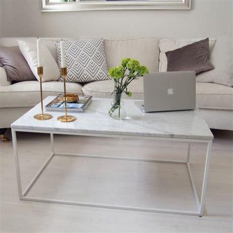 Table Basse Marbre Blanc by Table Basse En Marbre 58 Id 233 Es Pour Donner Du Style Au