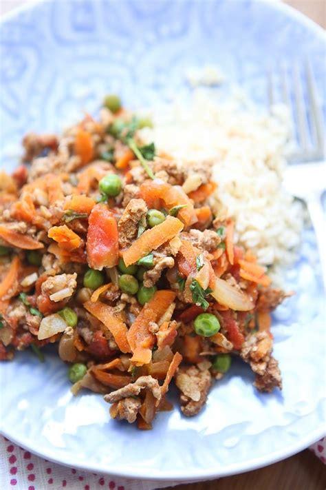 Ground Turkey Shelf by Kheema Spiced Ground Turkey And Peas Aggie S Kitchen