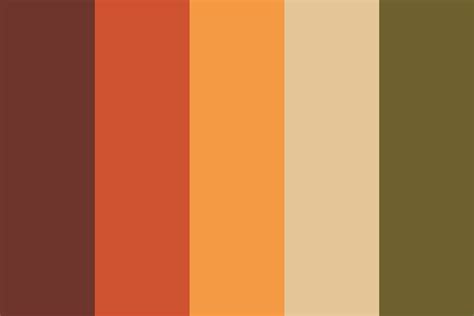 fall color pallette autumn wedding color palette