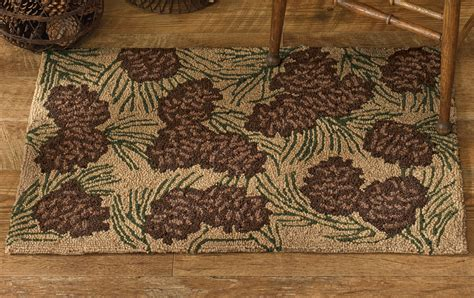 park designs rugs park designs walk in the woods hooked rug 24 quot x 36 quot ebay