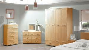 contemporary furniture vogue beech bedroom furniture set